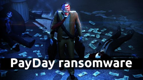 Delete PayDay ransomware