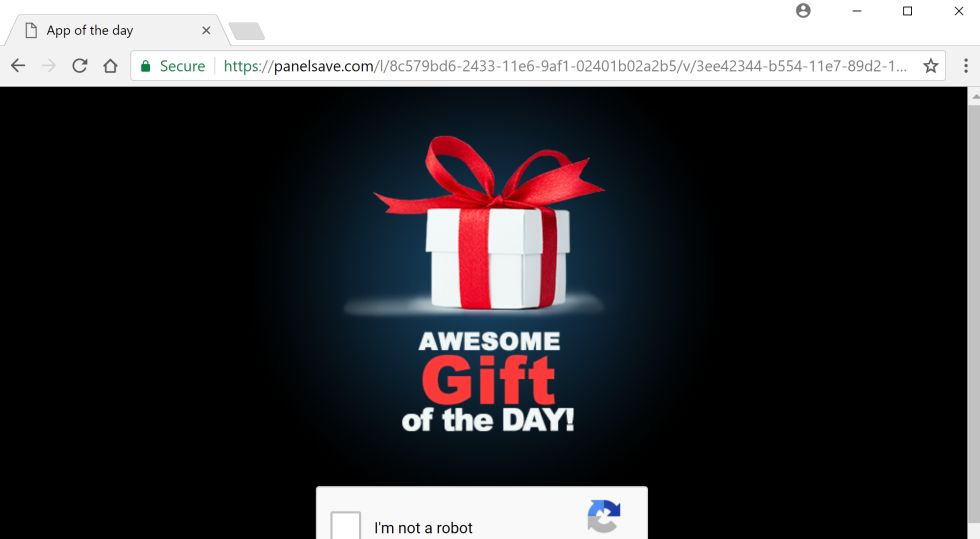 Awesome Gift Of The Day virus
